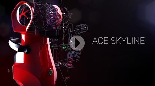 New Ace Skyline video